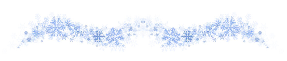 Element Swing Snowflakes blue