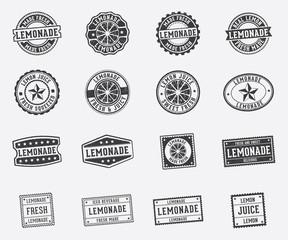 lemonade sign stamp pack