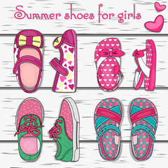 Summer shoes for girls