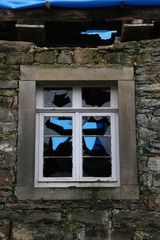 Fenster der Mühle Langenholzhausen