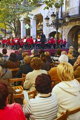 Banda de musica en girona cataluña españa
