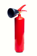 Image of red fire extinguisher