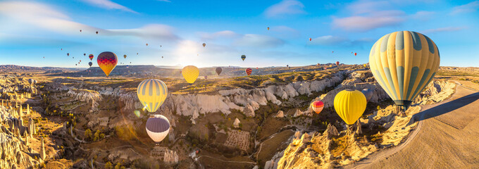 Hot air Balloons flight in Cappadocia