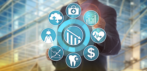 Data Analyst Monitoring Health Care Cost Reduction