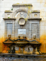 garibaldi fountain (old fountain) Pizzo Calabro Italy