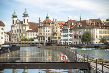 Old town of Lucerne, Switzerland