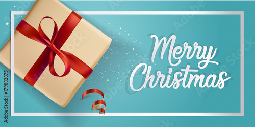 Modern Christmas 2018 Greeting Card Design Vector