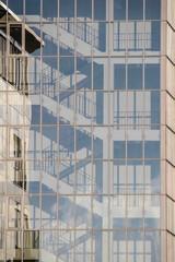 Gläsernes Treppenhaus