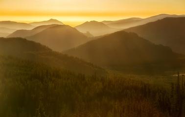 Sunrise in Rocky Mountain NP / Sonnenaufgang im Rocky Mountains Nationalpark