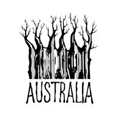 Tree symbol continent