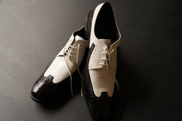 Shoes Black and White