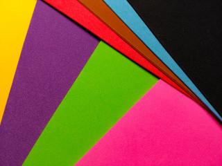 Colorful background pattern of foamboard in the background