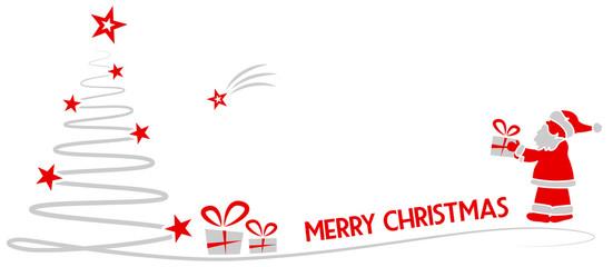Wall Mural - Merry christmas vector card