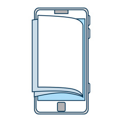 smartphone device with ebook