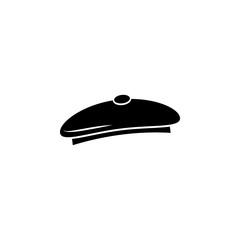 Artist hat vector icon. Painters hat symbol.