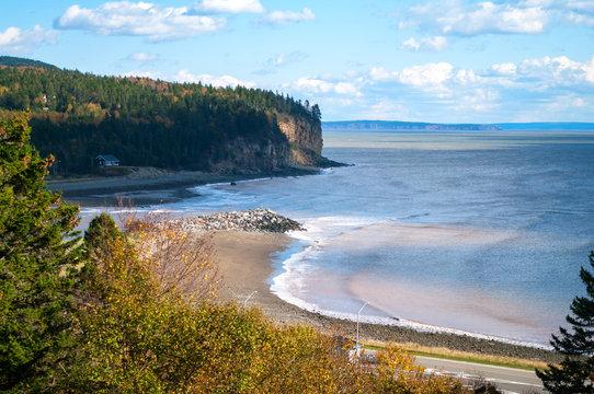 Chignecto Bay at Alma New Brunswick