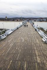 Sopot Pier (Molo) in the city of Sopot, Poland