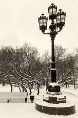 Old vintage lantern St.Petersburg
