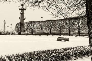 Saint Petersburg rostral column landmark
