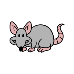 Cartoon Rat