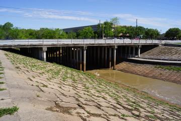 Spillway Before Hurricane Harvey