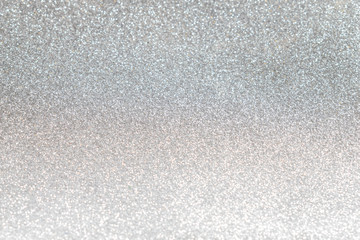 Silver Glitter Christmas Winter Background
