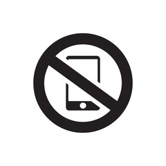 no phone icon illustration