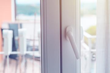 PVC door handle