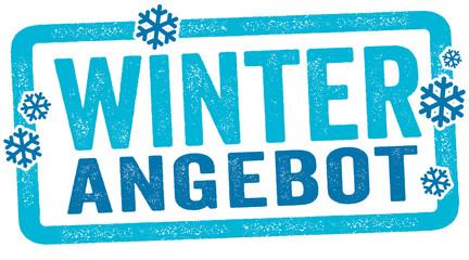 Stempel Label Weihnachtsangebot Winterangebot Weihnachtsspecial Weihnachten
