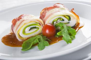 Paupiettes o popietas una receta de la cocina francesa para una comida creativa y de gourmet