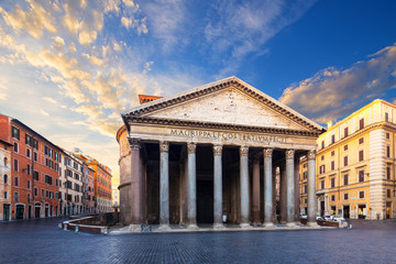 Wall Mural - Pantheon in Rome, Italy.
