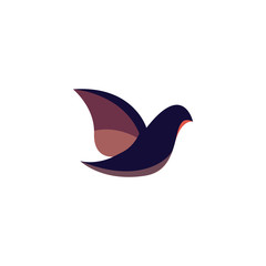 Dove Logo Icon Vector