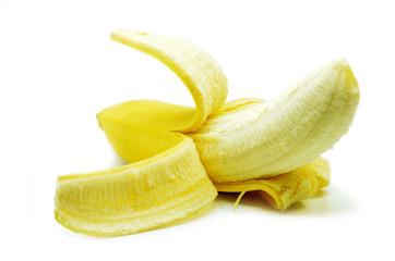 Yellow bananas isolated