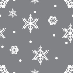 Snowflakes pattern. Endless simple illustration, image. Creative, luxury gradient colorful style. Print card, cloth, wrapping, wrap, wrapper, web, cover, gift, invitation, xmas, Merry Christmas.
