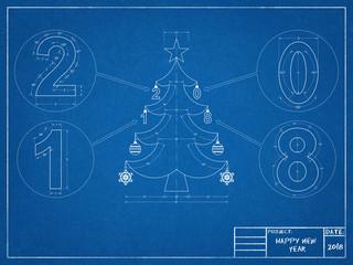 Christmas Tree 2018 Blueprint