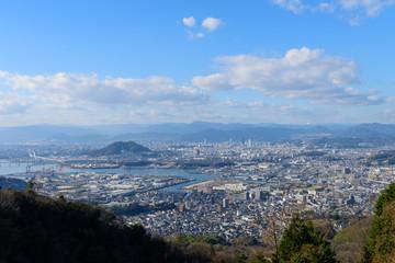 広島の風景 愛宕神社からの風景