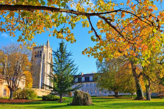 Abbaye Notre-Dame du Bec, Le Bec-Hellouin, Normandie
