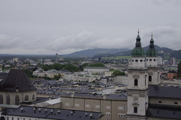 雨のザルツブルク
