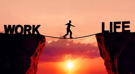 Work life balance Fotomurales