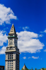 Classic Clock Tower Uner Blue Sky