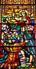 Ver sur Mer; France - july 18 2017 : historical church
