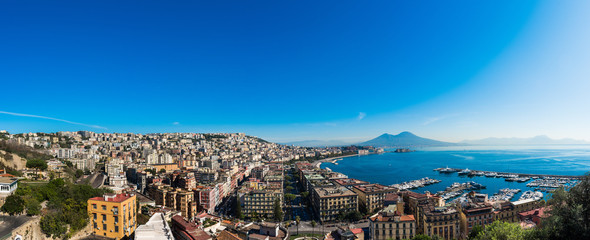 Photo sur Plexiglas Naples Panoramica Napoli