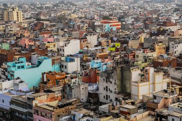 India Delhi high angle view