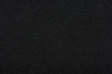 Texture of black cloth