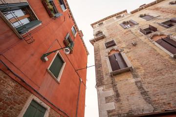 Häuser in Venedig, Italien