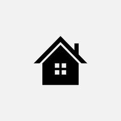 House flat vector icon. Home flat vector icon. Address flat vector icon. Location flat vector icon