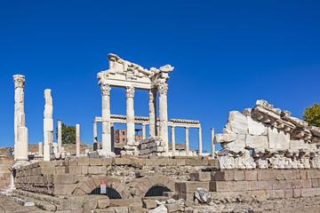 Ruins Of The Ancient City Of Pergamum (The Altar Of Zeus)