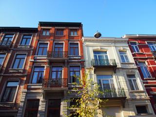 Brüssel: Altbaufassaden