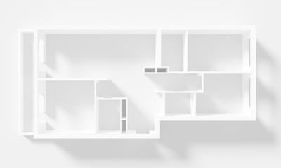 Paper Model Of Apartment