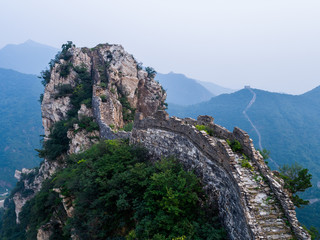 Beautiful mountain landscape. Rock and travel.